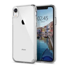 Spigen Ultra Hybrid Apple iPhone XR Crystal Clear tok, átlátszó