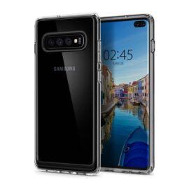 Spigen Ultra Hybrid Samsung Galaxy S10+ Crystal Clear tok, átlátszó