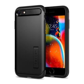 Spigen Slim Armor Apple iPhone SE(2020) Black tok, fekete