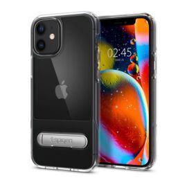 Spigen Slim Armor Essential Apple iPhone 12 mini Crystal Clear tok, átlátszó