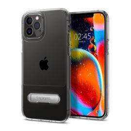 Spigen Slim Armor Essential Apple iPhone 12/12 Pro Crystal Clear tok, átlátszó