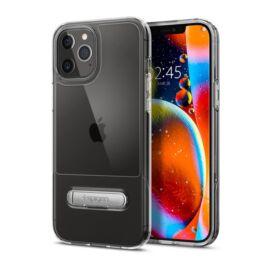 Spigen Slim Armor Essential Apple iPhone 12 Pro Max Crystal Clear tok, átlátszó
