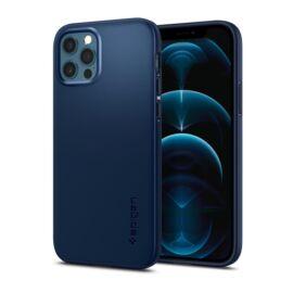 Spigen Thin Fit  Apple iPhone 12/12 Pro Navy Blue tok, kék