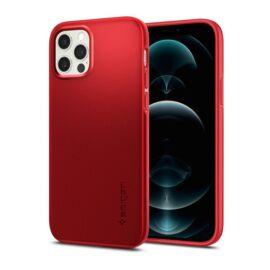 Spigen Thin Fit  Apple iPhone 12/12 Pro tok, piros