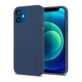 Spigen Thin Fit  Apple iPhone 12 mini Navy Blue tok, kék