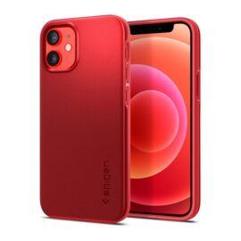 Spigen Thin Fit  Apple iPhone 12 mini Red tok, Piros