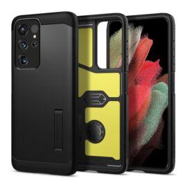 Spigen Tough Armor Samsung G998 Galaxy S21 Ultra Black tok, fekete