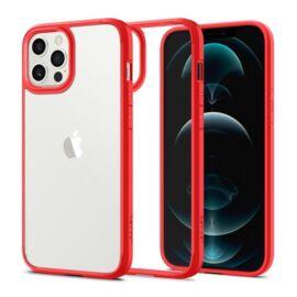 Spigen Ultra Hybrid Apple iPhone 12/12 Pro Red tok, piros