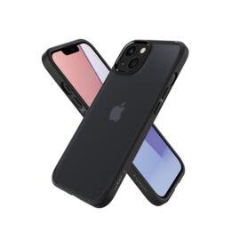 Spigen Ultra Hybrid Apple iPhone 13 mini Matte Frost Black tok, fekete