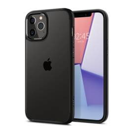 Spigen Ultra Hybrid Apple iPhone 12 Pro Max Matte Black tok, fekete