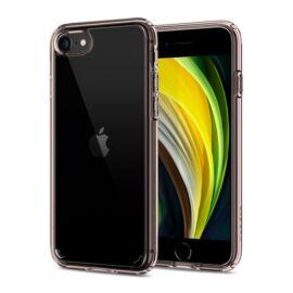 Spigen Ultra Hybrid Apple iPhone SE(2020)/8/7 Rose Crystal tok, átlátszó