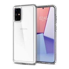 Spigen Ultra Hybrid Samsung Galaxy S20+ Crystal Clear tok, átlátszó