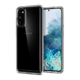 Spigen Ultra Hybrid Samsung Galaxy S20 Crystal Clear tok, átlátszó