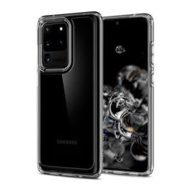 Spigen Ultra Hybrid Samsung Galaxy S20 Ultra Crystal Clear tok, átlátszó