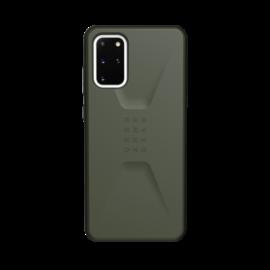 UAG Civilian Samsung Galaxy S20+ hátlap tok, Olive Drab