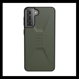 UAG Civilian Samsung Galaxy S21+ hátlap tok, Olive