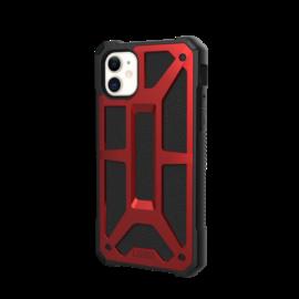UAG Monarch Apple iPhone 11 hátlap tok, Crimson