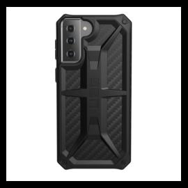 UAG Monarch Samsung Galaxy S21+ hátlap tok, Carbon Fiber