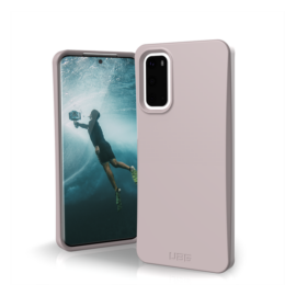 UAG Outback Bio Samsung Galaxy S20+ hátlap tok, lila