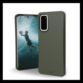 UAG Outback Bio Samsung Galaxy S20 hátlap tok, oliva