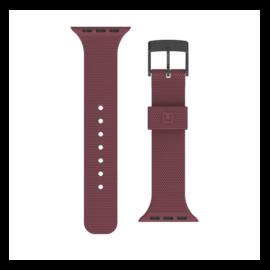 UAG [U] Apple Watch 38/40mm szilikon szíj, padlizsán
