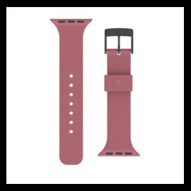 UAG [U] Apple Watch 38/40mm szilikon szíj, sötét rózsa