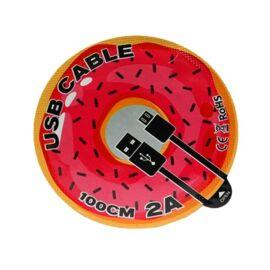 UMY Jelly adatkábel, Type-C, piros