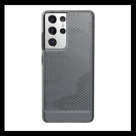 U by UAG Lucent Samsung Galaxy S21 Ultra hátlap tok, Ash