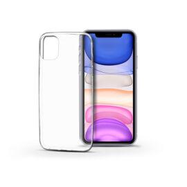 Apple iPhone 11 szilikon hátlap - Soft Clear - transparent