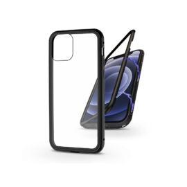 Apple iPhone 12 Mini mágneses, 2 részes hátlap előlapi üveg nélkül - Magneto fekete
