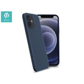 Apple iPhone 12 Mini szilikon hátlap - Devia Nature Series Case - blue