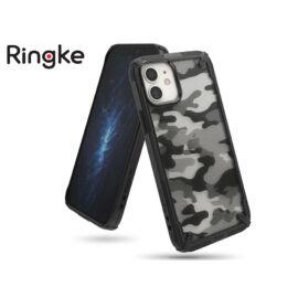 Apple iPhone 12 Mini ütésálló hátlap - Ringke Fusion X - camo black