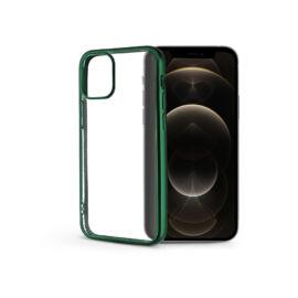 Apple iPhone 12 Pro Max szilikon hátlap - Electro Matt - zöld