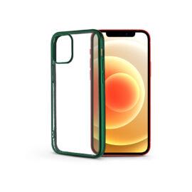 Apple iPhone 12/12 Proszilikon hátlap - Electro Matt - zöld