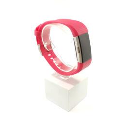 Fitbit Charge 2 cserélhető szíj - sötét rózsaszín - magenta (L)