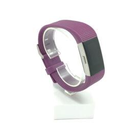 Fitbit Charge 2 cserélhető szíj - sötétlila - deep purple (L)