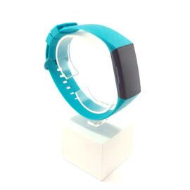 Fitbit Charge 3 / 4 cserélhető szilikon szíj - mentazöld (L)