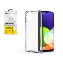 Samsung A225F Galaxy A22 4G szilikon hátlap - Roar Armor Gel - transparent