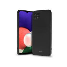 Samsung A226B Galaxy A22 5G szilikon hátlap - Roar All Day Full 360 - fekete
