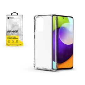 Samsung A525F Galaxy A52/A526B Galaxy A52 5G szilikon hátlap - Roar Armor Gel - transparent