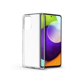 Samsung A525F Galaxy A52/A526B Galaxy A52 5G szilikon hátlap - Soft Clear - transparent