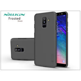 Samsung A605 Galaxy A6 Plus (2018) hátlap képernyővédő fóliával - Nillkin Frosted Shield - fekete