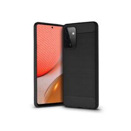 Samsung A725F Galaxy A72/A726B Galaxy A72 5G szilikon hátlap - Carbon - fekete