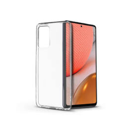 Samsung A725F Galaxy A72/A726B Galaxy A72 5G szilikon hátlap - Soft Clear - transparent