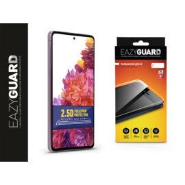 Samsung G780F Galaxy S20 FE/S20 FE 5G gyémántüveg képernyővédő fólia - Diamond Glass 2.5D Fullcover - fekete