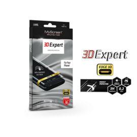 Samsung G975U Galaxy S10+ hajlított képernyővédő fólia - MyScreen Protector 3D Expert Full Screen 0.2 mm - transparent