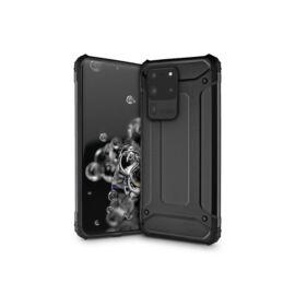 Samsung G988F Galaxy S20 Ultra ütésálló hátlap - Armor - fekete