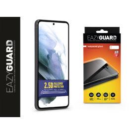 Samsung G990F Galaxy S21 gyémántüveg képernyővédő fólia - Diamond Glass 2.5D Fullcover - fekete