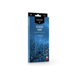 Samsung G990F Galaxy S21rugalmas üveg képernyővédő fólia - MyScreen Protector Hybrid Glass - transparent