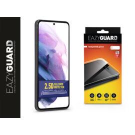 Samsung G996F Galaxy S21+ gyémántüveg képernyővédő fólia - Diamond Glass 2.5D Fullcover - fekete
